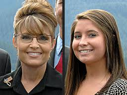 Bristol Palin and Sarah Palin