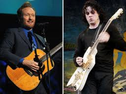 Conan O'Brien And Jack White