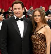 Kelly Preston and husband John Travolta