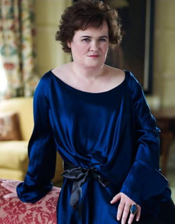 Susan Boyle Bazaar Magazine Photo