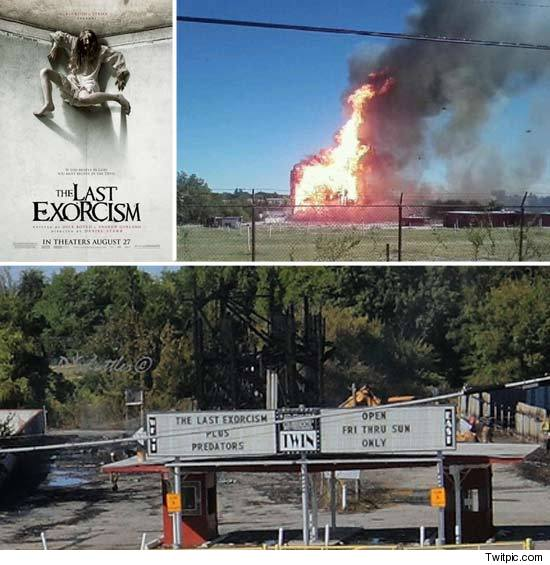 Last Exorcism Theater Burns Down
