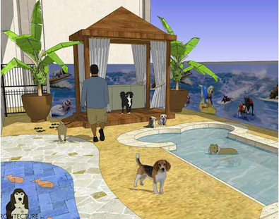 Dog Celebrity Hotel