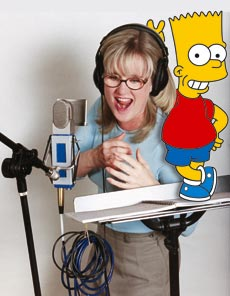 Nancy Cartwright - Voice of Bart Simpson