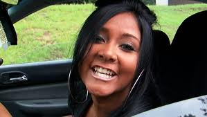Snooki In The Car