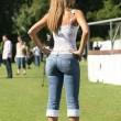 ines sainz jeans
