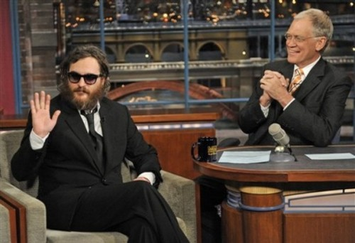 Joaquin Phoenix On David Letterman