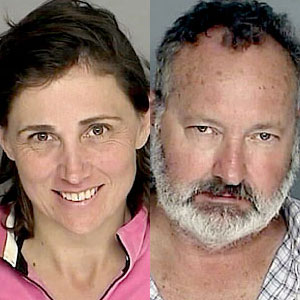 Randy Quaid and Evi Quaid Mugshot Photos