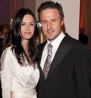 David Arquette & Courteney Cox-Arquette