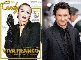 James Franco Dressed in Drag for Candy Magazine