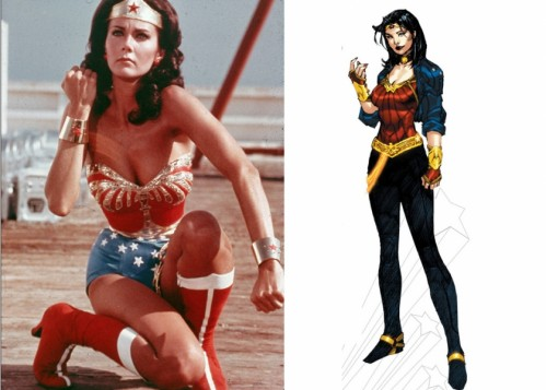 Lynda Carter and the new Wonder Woman