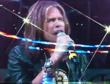 Steven Tyler - National Anthem at NHL Game