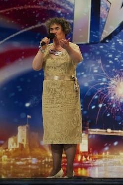 Susan Boyle Singing on Britains' Got Talent
