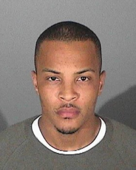 T.I. Mugshot Photo