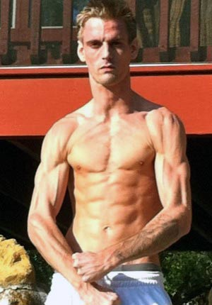 Aaron Carter Muscle Head