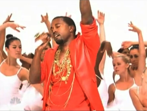 Kanye West Saturday Night Live Power Performance