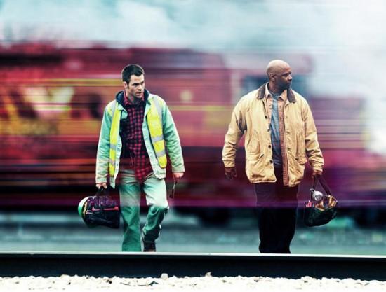 Chris Pine and Denzel Washington - Unstoppable Movie