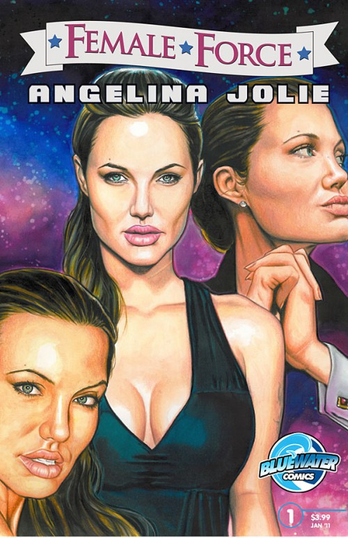 Angelina Jolie Comic Book