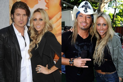 Bret Michael and Tish Cyrus