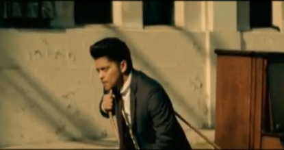 "Bruno Mars ""Grenade"" Music Video"