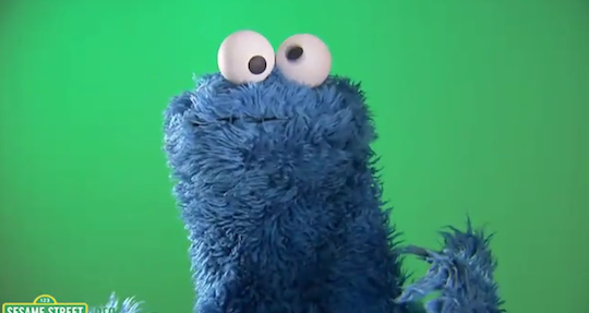 Cookie Monster - SNL Audition Video Still
