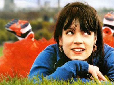 Lily Allen Posing for the camera
