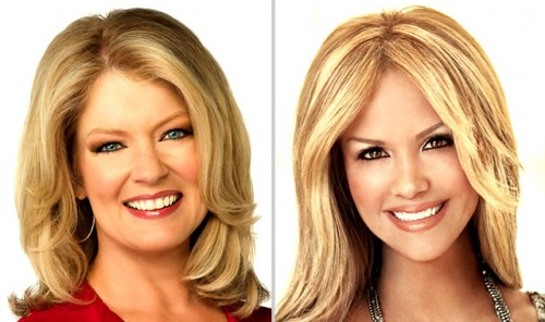 Nancy O'Dell and Mary Hart - Entertainment Tonight