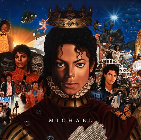 "Michael Jackson Album ""Michael"""