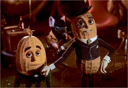 Mr Peanut - voiced by Robert Downey Jr.