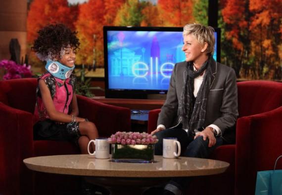 Willow Smith on the Ellen DeGenerous Show