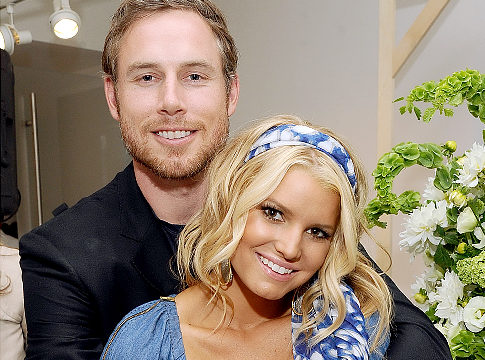 Jessica Simpson and Fiance Eric Johnson