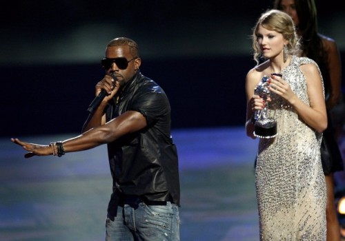 Kanye West and Taylor Swift - 2009 MTV VMA's