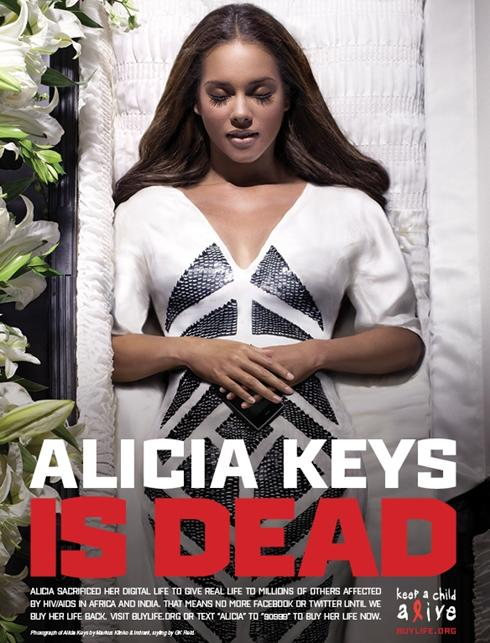 Alicia Keys Is Dead