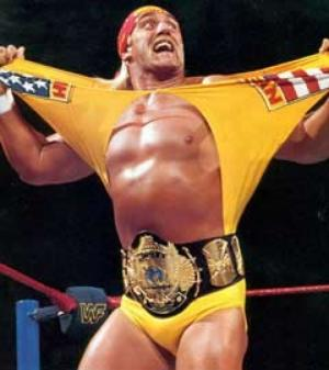 Hulk Hogan In the Ring