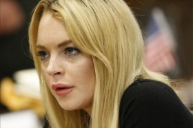 Lindsay Lohan Courtroom Photo