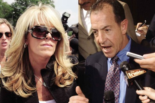 Michael and Dina Lohan