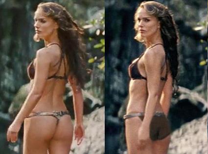 Natalie Portman - Butt Cheeks CGI
