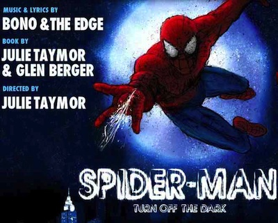 Spider Man Turn Off The Dark Poster
