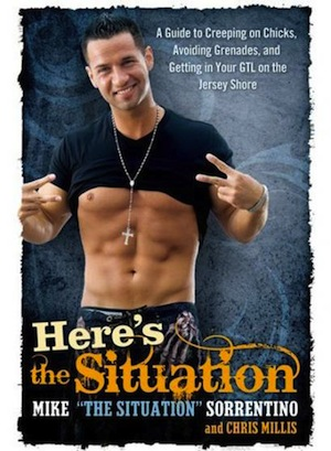 Mike 'The Situation' Sorrentino Watches As Book Flops