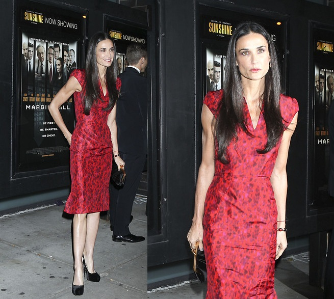 Demi Moore loses weight and tips at 98 lbs to mark her 49th Birthday …. or is it to save her marriage?