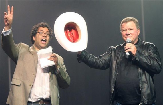 Shatner and Calgary Mayor
