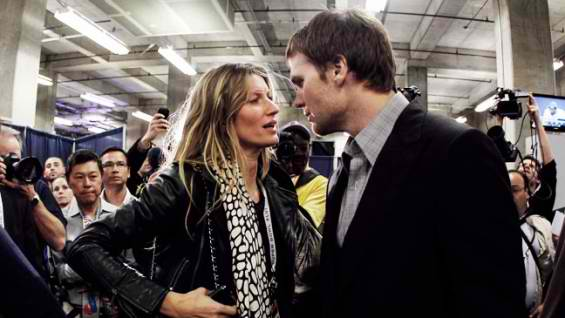 Gisele Bundchen Comforts, Defends Tom Brady