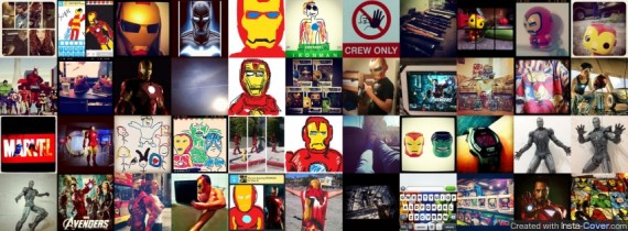 Iron Man InstaCover