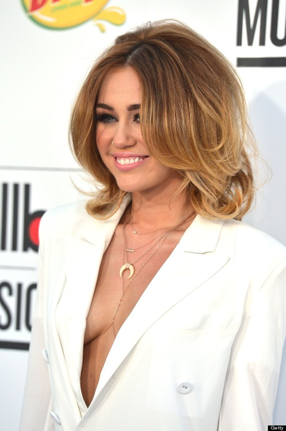 Featured image for Miley Cyrus' Risky Outfit at the Billboard Awards 2012