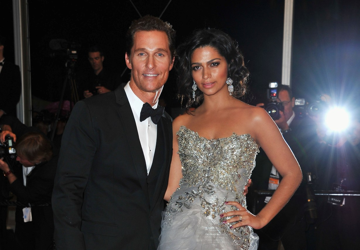 Matthew McConaughey Marries Camila Alves