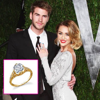 Featured image for Miley Cyrus and Liam Hemsworth Engaged!