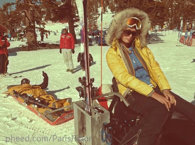 Featured image for Paris Hilton's 32nd Birthday Marred by Boyfriend's Ski Accident