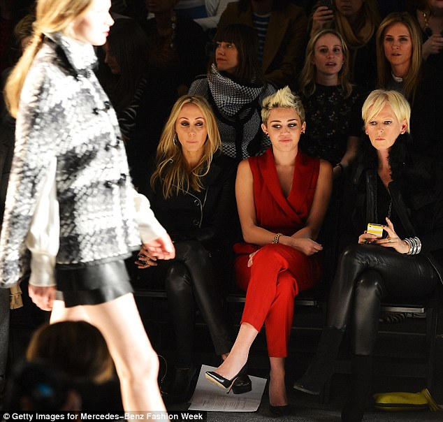 Featured image for Miley Cyrus is Red Hot at New York Fashion Week