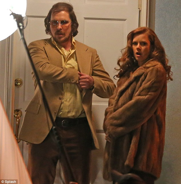 Christian Bale and Amy Adams