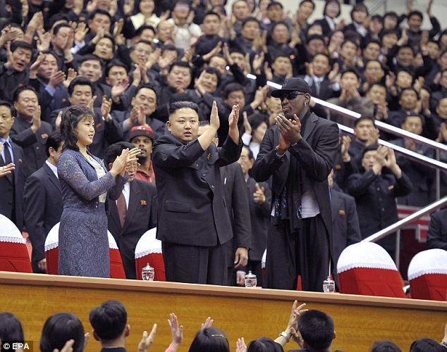 Kim Jong_Un_Dennis Rodman