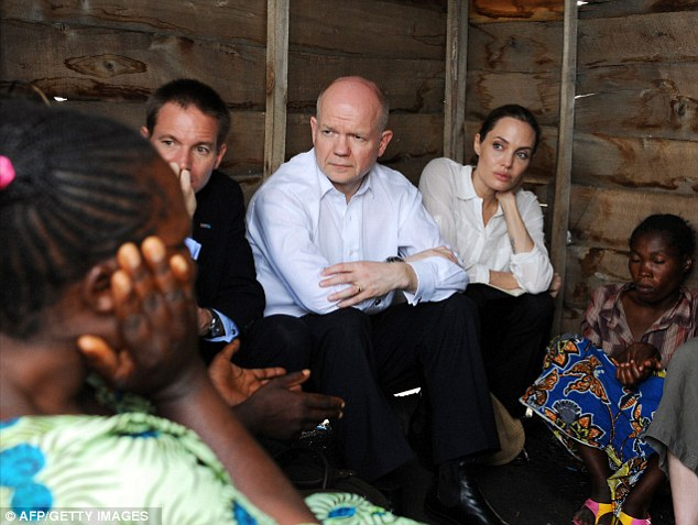 Featured image for Angelina Jolie Visits Congo and Rwanda without her $250,000 Engagement Ring